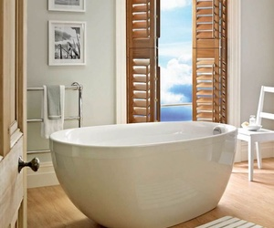 bath, chic, and luxury image