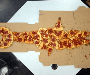 pizza and shark image