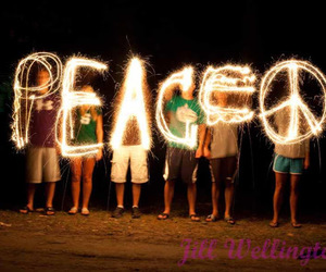 peace and light image