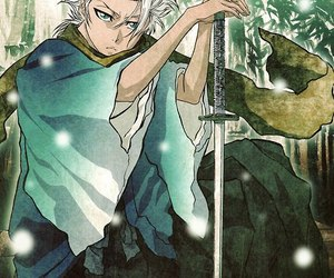 bleach, anime, and hitsugaya image