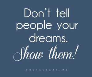 dreams, people, and text image