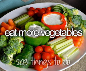 eat, more, and vegetables image