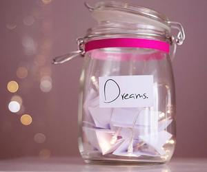 Dream, pink, and jar image