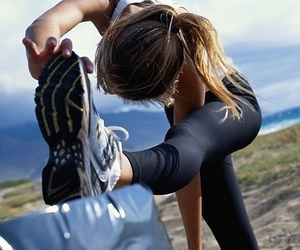 exercise, outside, and inspirational image