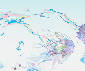 anime and water image