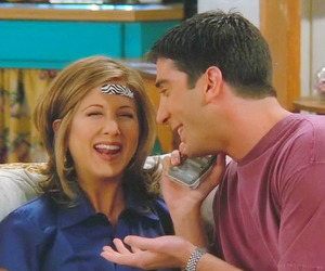 couple, David Schwimmer, and rachel green image