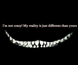 crazy, reality, and smile image