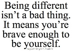Being Different Quotes|Being Unique Quotes. : Inspirational ...
