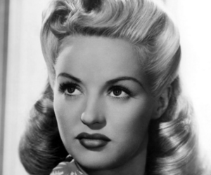 1940s, blonde, and hair image