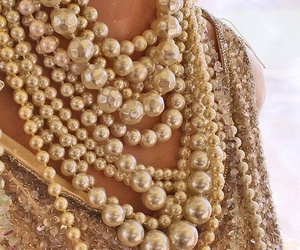 pearls, necklace, and jewelry image