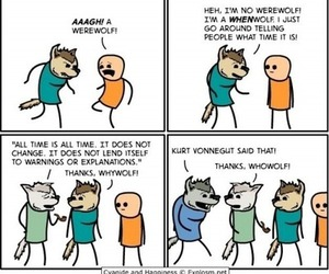 funny, werewolf, and lol image