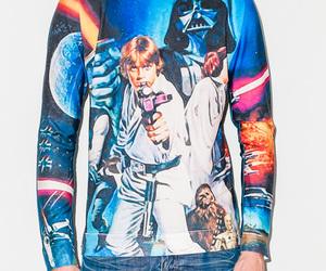 darth vader, sweatshirt, and LUke image