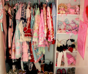 clothes, lolita, and pink image