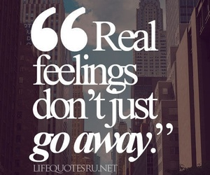 quote, feelings, and real image