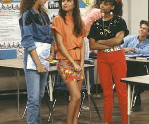 fashion, girl, and saved by the bell image
