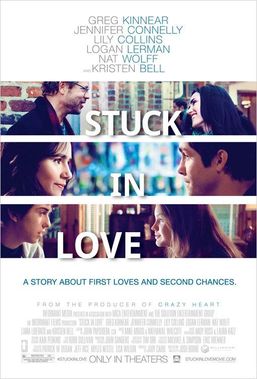 stuck in love, logan lerman, and kristen bell image