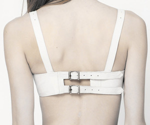 buckle, straps, and gothic design image