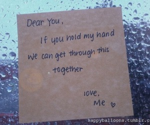 together, you, and love image