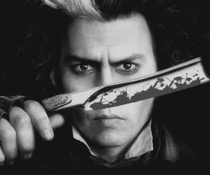 johnny depp and sweeney todd image