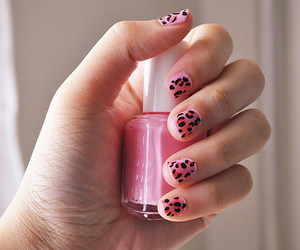 nails, pink, and photography image