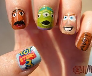 nails, toy story, and toy story 3 image