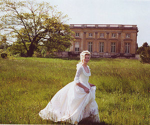 marie antoinette, dress, and Kirsten Dunst image
