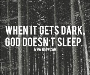 dark, god, and quotes image