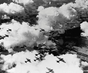 bomber and war image
