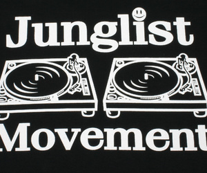 dnb, drum n bass, and jungle image