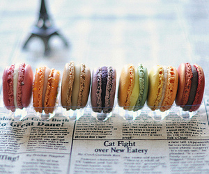 macaroons and food image