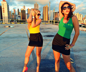 colorful, fashion, and girls image