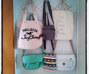 bags, california, and hollister image
