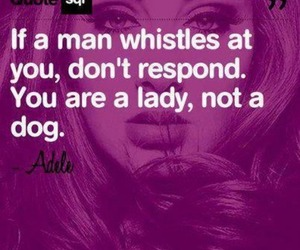 quote, Adele, and lady image
