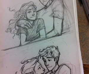 percabeth, percy jackson, and annabeth image
