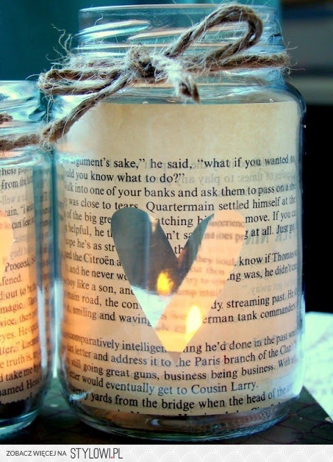 candle, heart, and diy image