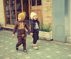 cute, kids, and couple image