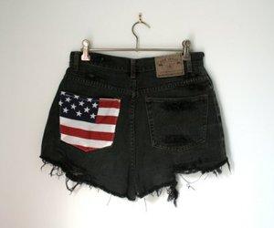 fashion, shorts, and black image