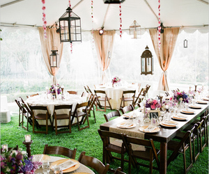 tent and wedding image