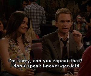 how i met your mother, Barney Stinson, and funny image