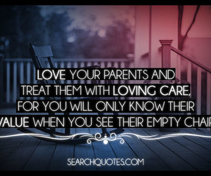care, parents, and quotes image