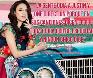 cher lloyd, justin bieber, and one direction image