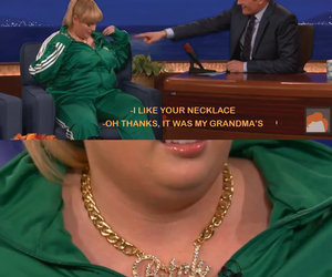 funny, bitch, and necklace image