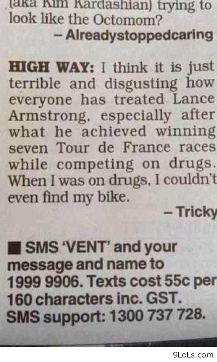 Drugs And Bikes Funny Pictures Funny Quotes Funny Videos