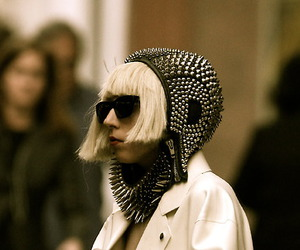 black, Lady gaga, and street image