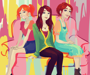 jane, lbd, and lizzie image