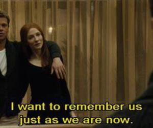 benjamin button, brad pitt, and quote image