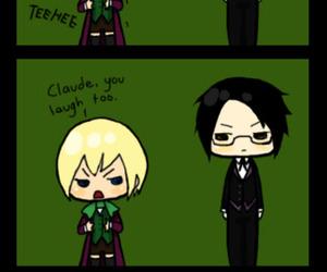 kuroshitsuji, claude, and black butler image