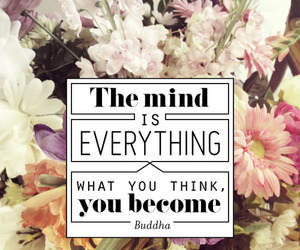 quote, mind, and Buddha image