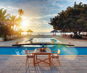 pool, luxury, and beach image
