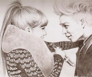 drawing, bommie, and cute image